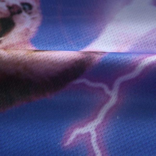 cat lightning bolts t shirt