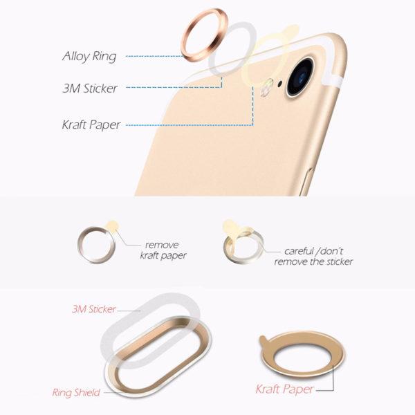 iPhone 7 Plus Camera Lens Protector