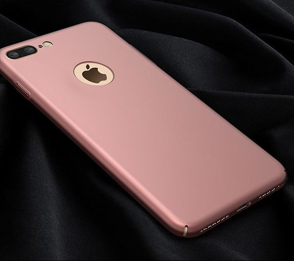 rose gold matte luxury iphone 7 plus case