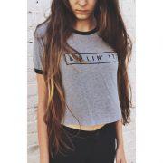 Grey killin' it t-shirt