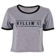 Grey killin it t-shirt