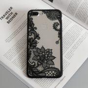 black lace iphone 7 plus case