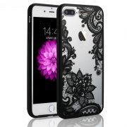 black sexy lace iphone 7 plus case