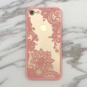 iphone 7 pink lace case