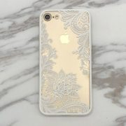 iphone 7 white lace case