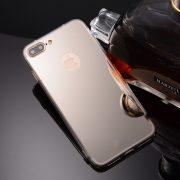iphone 7 plus silver mirror case