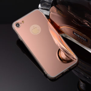 rose gold iphone 7 mirror case